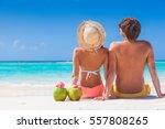 picture of fresh coconut juice...   Shutterstock . vector #557808265