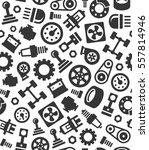 auto car spare parts seamless... | Shutterstock . vector #557814946