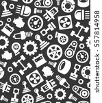 auto car spare parts seamless... | Shutterstock . vector #557814958