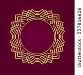 monogram initials. template of... | Shutterstock .eps vector #557816626