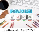 information bubble  business... | Shutterstock . vector #557825272