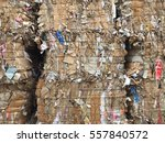 paper and cardboard at the... | Shutterstock . vector #557840572