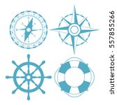 navigation maritime vector icon ... | Shutterstock .eps vector #557855266