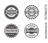 vintage theme retro label... | Shutterstock . vector #557881072