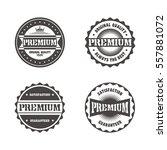 vintage theme retro label... | Shutterstock . vector #557881072