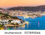 view of bodrum castle and...   Shutterstock . vector #557890066