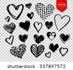 vector collections of hand... | Shutterstock .eps vector #557897572