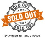 sold out. stamp. sticker. seal. ... | Shutterstock .eps vector #557940406