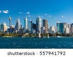sydney cityscape of sydney cbd... | Shutterstock . vector #557941792