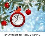 illustration of christmas or... | Shutterstock .eps vector #557943442