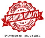 premium quality. stamp. sticker.... | Shutterstock .eps vector #557951068