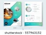 brochure design. corporate... | Shutterstock .eps vector #557963152