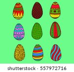 Color Easter Eggs Collection...