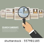 business concept. search... | Shutterstock .eps vector #557981185