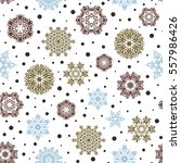 freehand ethnic xmas sketch.... | Shutterstock .eps vector #557986426