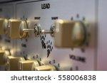 own made guitar amp | Shutterstock . vector #558006838