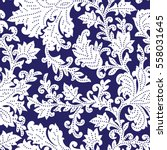 seamless pattern with fantasy... | Shutterstock .eps vector #558031645