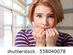 fear. | Shutterstock . vector #558040078