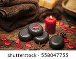 valentine day. wellness...   Shutterstock . vector #558047755