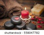 valentine day. wellness... | Shutterstock . vector #558047782
