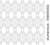 seamless vector ornament.... | Shutterstock .eps vector #558050302