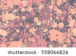 seamless pattern of smudges and ... | Shutterstock .eps vector #558066826