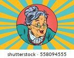 Joyful Intelligent Grandmother...