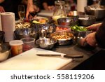 food on the table | Shutterstock . vector #558119206