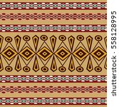 ethnic abstract bright pattern... | Shutterstock .eps vector #558128995