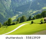 in the mountains | Shutterstock . vector #55813939