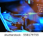 abstract blurred image. actor... | Shutterstock . vector #558179755