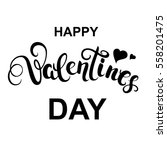 happy valentines day... | Shutterstock .eps vector #558201475