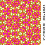 abstract colorful tile pattern. ... | Shutterstock . vector #558215656