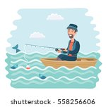 vector cartoon illustration of... | Shutterstock .eps vector #558256606