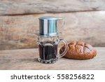 'phin' traditional vietnamese... | Shutterstock . vector #558256822