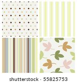 Vector Set Of Four Different...