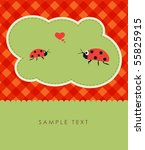 Ladybugs Couple Kissing