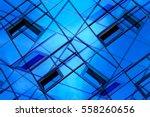 modern architecture. double... | Shutterstock . vector #558260656