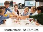 education  children  technology ...   Shutterstock . vector #558274225