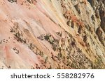 waterfall and canyon in the...   Shutterstock . vector #558282976