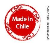 made in chile   Shutterstock .eps vector #55829047