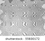 metal panel with some reflected ... | Shutterstock . vector #55830172