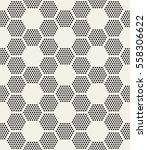 vector seamless pattern. modern ... | Shutterstock .eps vector #558306622