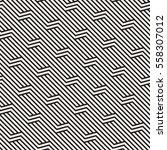 vector seamless pattern. modern ... | Shutterstock .eps vector #558307012