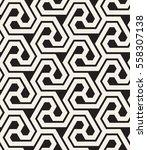 vector seamless pattern. modern ... | Shutterstock .eps vector #558307138