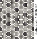 vector seamless pattern. modern ... | Shutterstock .eps vector #558307162