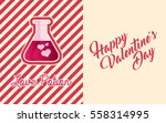 valentines day greeting card...   Shutterstock .eps vector #558314995