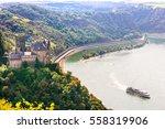 Romantic Rhine Valley With...