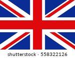 vector uk flag | Shutterstock .eps vector #558322126