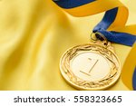 champions first place gold... | Shutterstock . vector #558323665